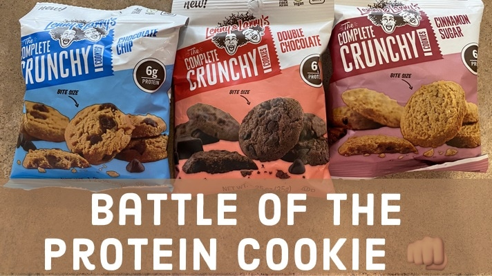 battle of the protein cookie