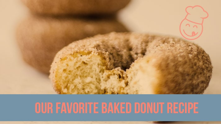 our favorite baked donut recipe