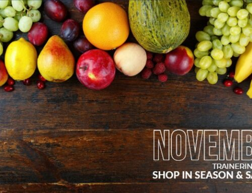 November Fruits and Veggies